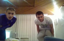 Serbian twinks have fun on webcam