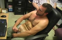 Masturbation in the office