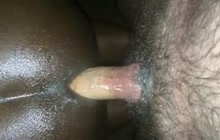 Black dude assfucked from behind