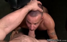 Skull fucked stud gets railed