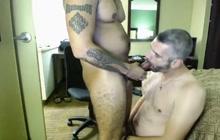 Daddy bred by horny Latino boyfriend