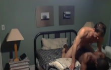 Black dude assfucked by a white dude