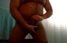 Kinky bear doing solo show