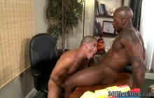 Studs tight ass blacked by huge cock