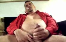 Bear masturbating compilation