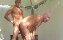 Daddy bareback fuck